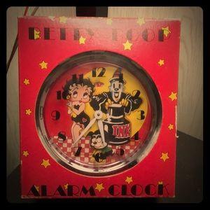Betty bop clock